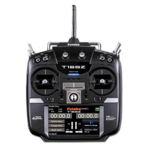 Futaba T16SZ 2.4Ghz Mode1 + R7008SB